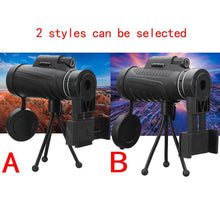 Load image into Gallery viewer, 40X60 HD Phone Telescope Lens 40x Magnification with Tripod Clip