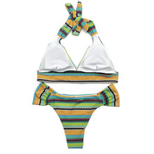 Load image into Gallery viewer, Women Triangle Tankini Swimming Suit
