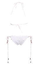 Load image into Gallery viewer, Sexy Brand Lace Up Crochet Bikini Swimwear Knitted Bikini Swimsuit