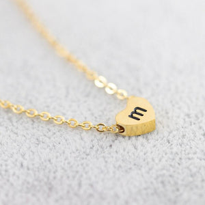 A-Z Nameplate Pendant Necklace Custom Multiple Name Necklace Personalized Stainless Steel Chain Jewelry Collar Nombre Mama BFF