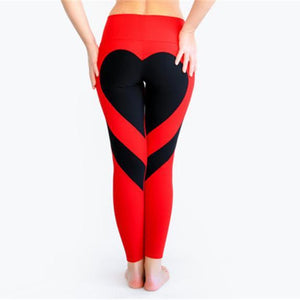 Heart Shape Active Leggings