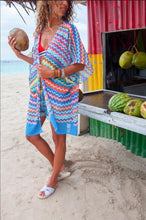 Load image into Gallery viewer, Women Beach Cover up Kaftan Sarong Beachwear Swimwear Loose Tops