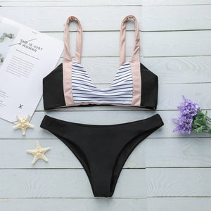 G-string Thong Set Swimwear Bathing Suit
