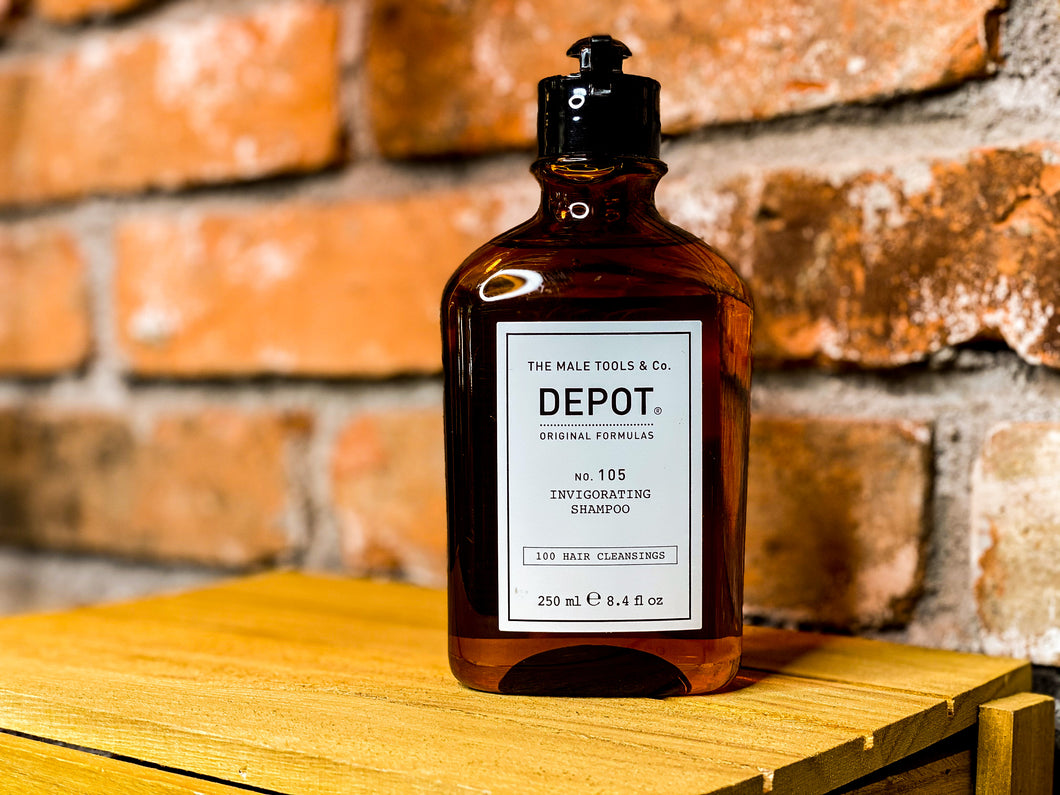 DEPOT 105 Invigorating Shampoo 250 ml