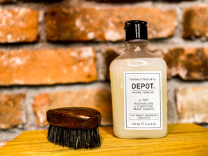 DEPOT 501 Moisturizing & Clarifying Beard Shampoo 250 ml