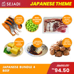 Japanese Bundle 4 Beef