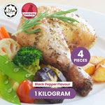 Ayam Garam Nyonya Whole Chicken Leg - Black Pepper Flavour (± 250g) - 4pcs
