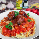 Spaghetti & Meat Ball (1 portion)