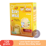 LOVE EARTH Organic Sprouted Brown Rice Baby Meal Original (120g) - sejadi.com