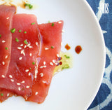 Wholesale Smoked Tuna Saku ( Soya - Ginger - Orange - Carrot)