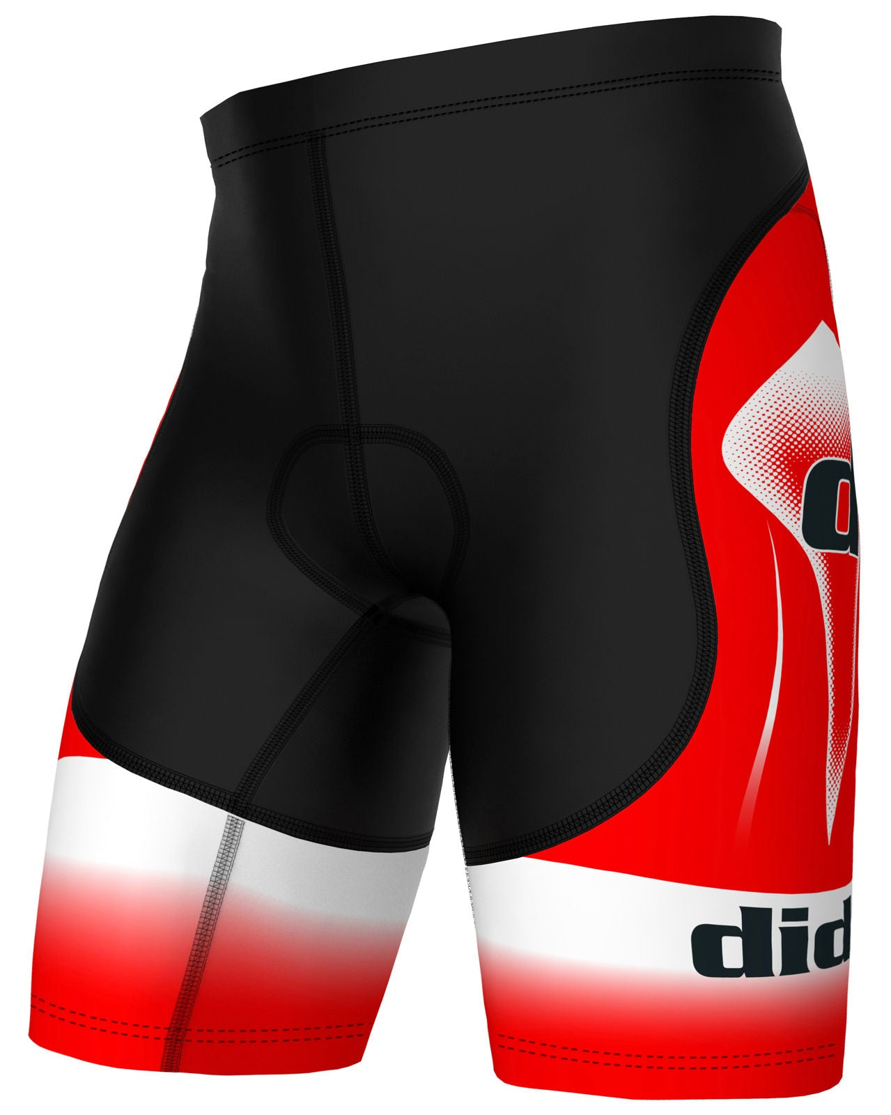 DiDoo Men's Classic Cycling Shorts