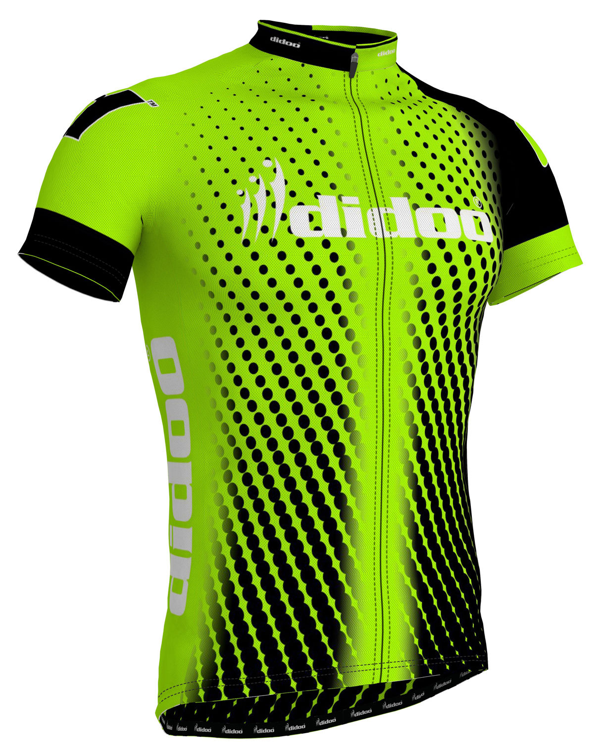 DiDOO Men's Classic Short Sleeve Cycling Jersey