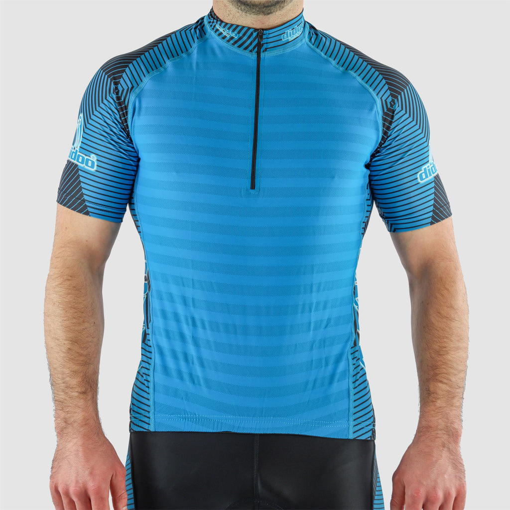 Short Sleeve Cycling Jersey Half Zip