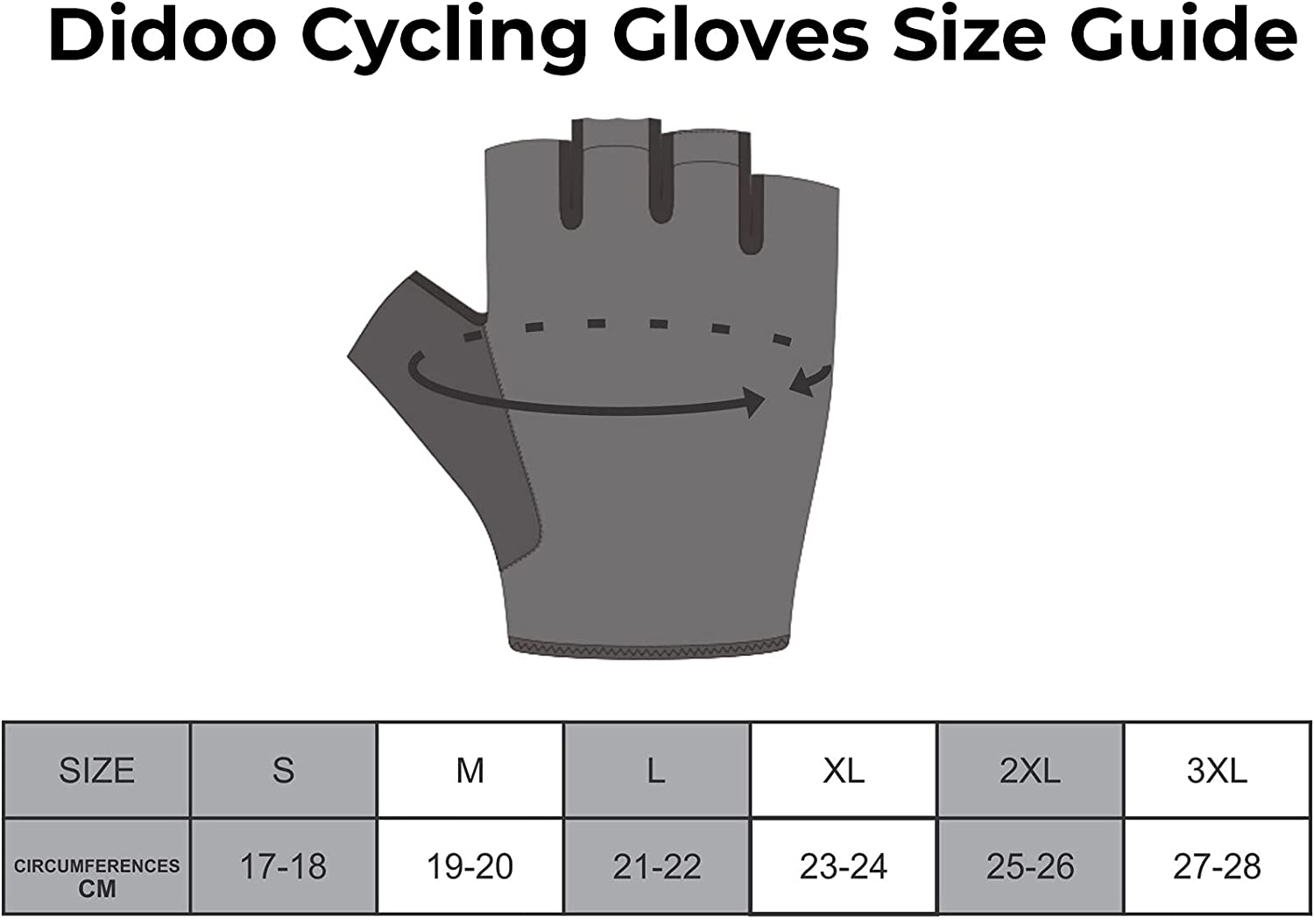 DiDOO Smart Pro Lightweight Short Finger Cycling Glove Olive Green