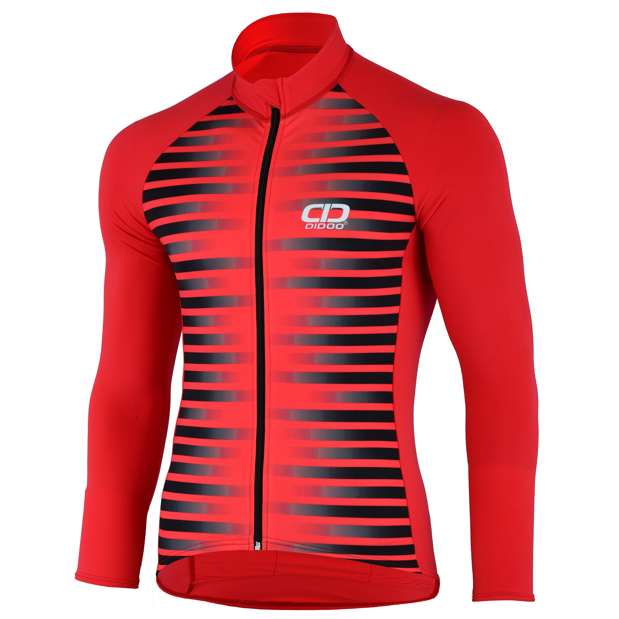 DiDOO Men's Pro long sleeve winter cycling jersey