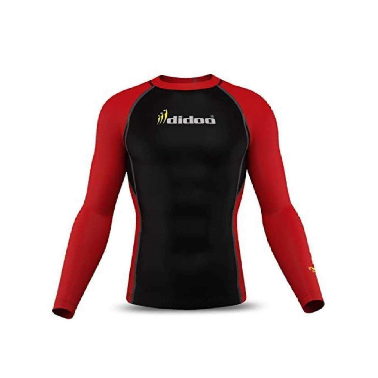 DiDOO Men's Compression Thermal Baselayer Top Long Sleeve