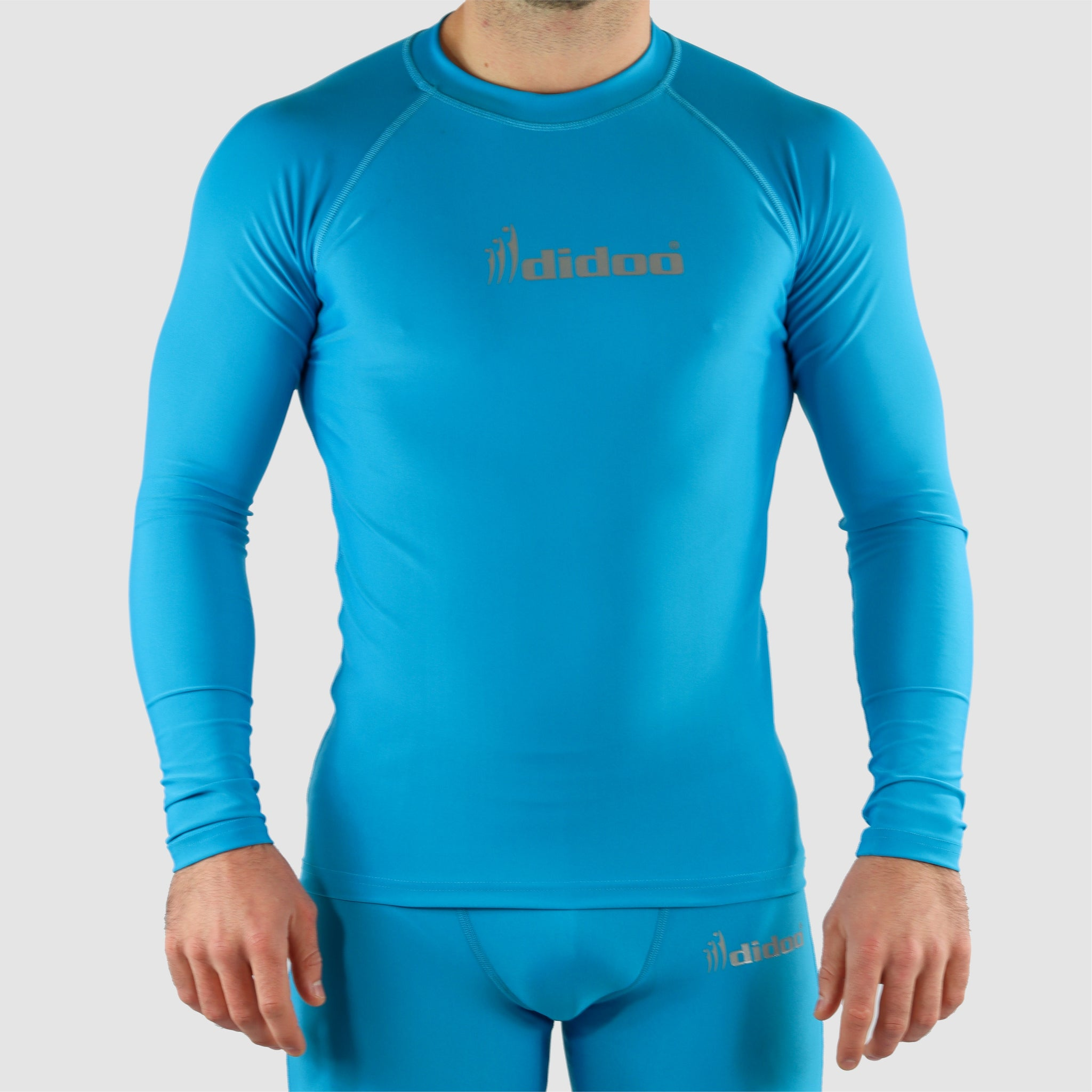DiDOO Men's Compression Baselayer Top Long Sleeve