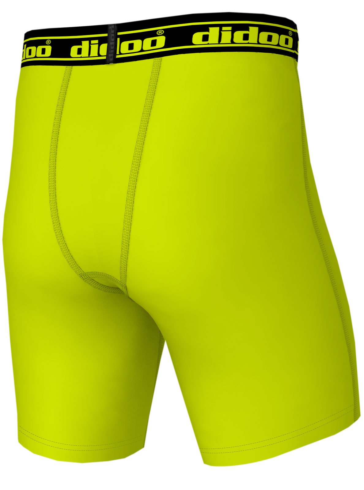 DiDOO Men's Compression Base Layer Shorts