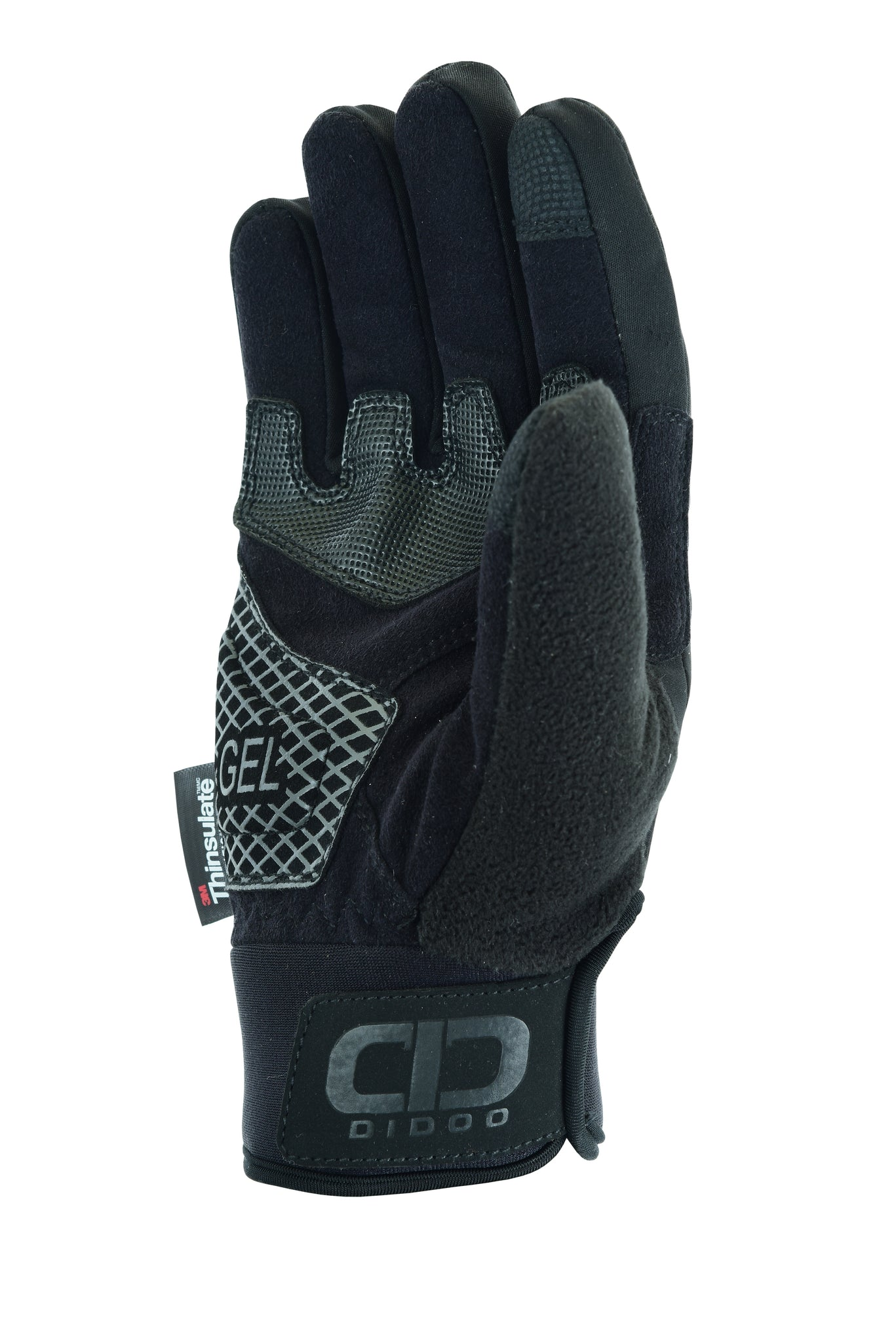 Men's Pro Waterproof & Wind Resistant Winter Cycling Gloves Black