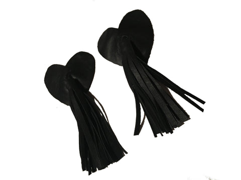 Real Leather Nipple Tassels