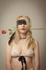 Black Silk Blindfold/Tie