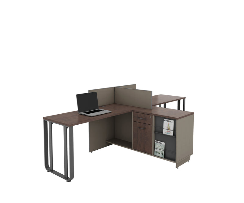 OS Series 2-Seater Work Station