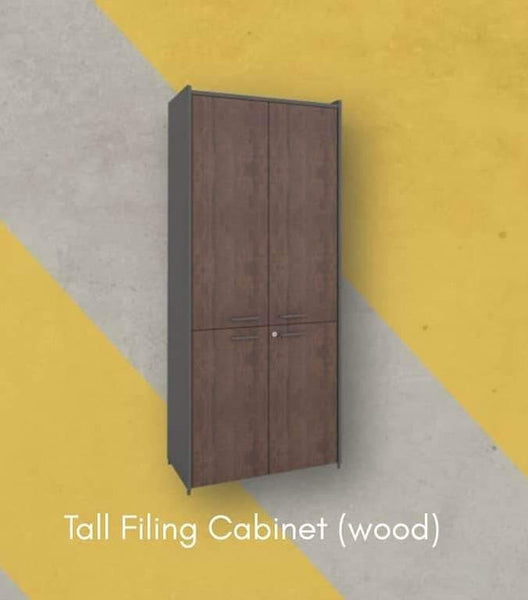 OS Series Tall Wooden Cabinet
