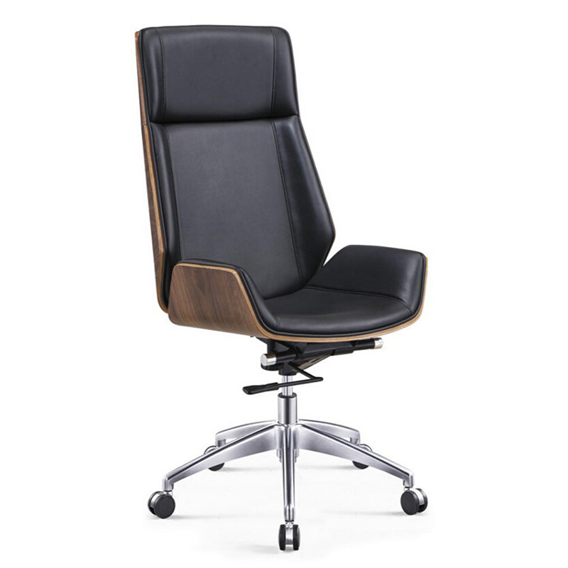 Gavin High Back Executive Chair (Wood)
