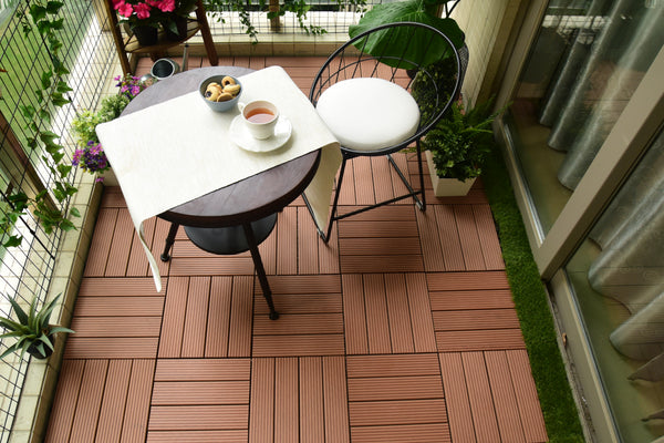 Artificial Wood PPE Deck Tile