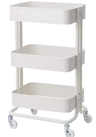 Audrey 3 Layer Metal Cart