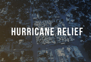 Cera Products donates hurricane disaster relief supplies through Direct Relief International.