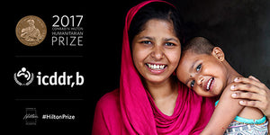 icddr,b announced as recipient of the Hilton Humanitarian Prize