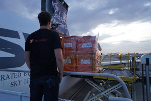 Additional information on Direct Relief's Airlift to Puerto Rico containing CeraLyte