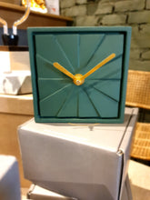Load image into Gallery viewer, Table Clock - Elegance Royal Green
