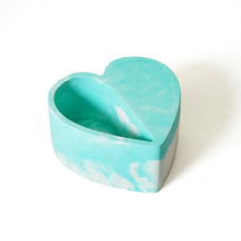 Load image into Gallery viewer, Marbled Heart Planter
