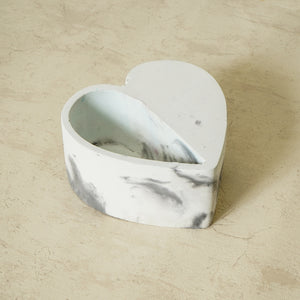 Marbled Heart Planter