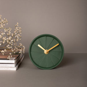 Table Clock - Elevate Royal Green