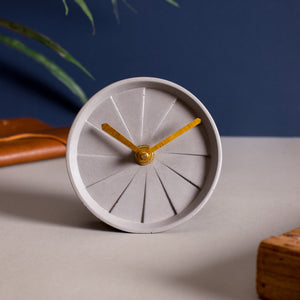 Table Clock - Elevate Grey