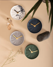 Load image into Gallery viewer, Table Clock - Elevate Royal Green