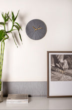 "Load image into Gallery viewer, Minimalist 12"" Concrete Clock - Round"
