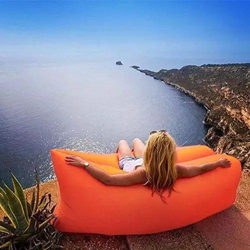 Portable Self-Inflating Beach Outdoors Lounger Couch