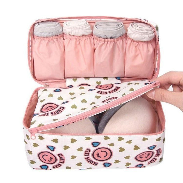 Travel Printed Underwear Bag