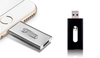 3 in 1 Metallic Stylish Flash Drive for iOS and Android
