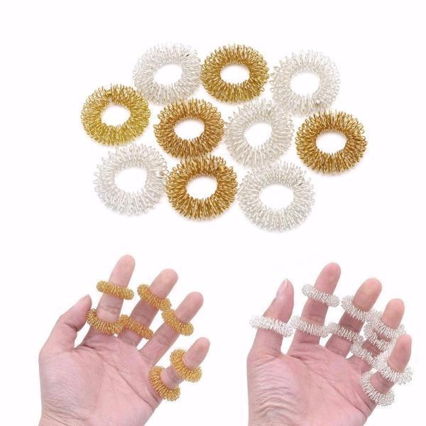 10 PCS FINGER MASSAGE RINGS