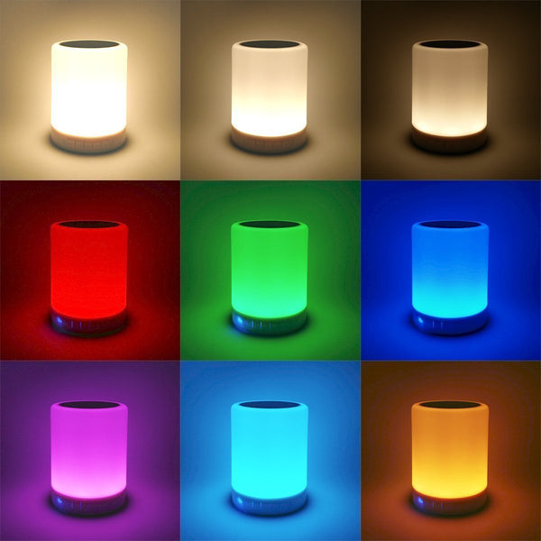 Portable Night Light Speaker