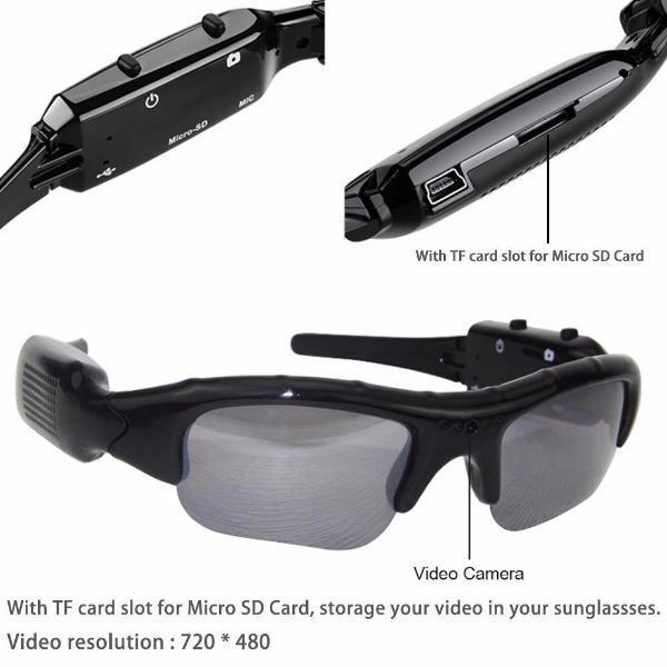 720P HD VIDEO RECORDER SUNGLASSES
