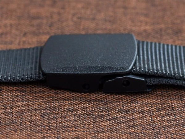 Automatic Tactical Buckle Nylon Belt
