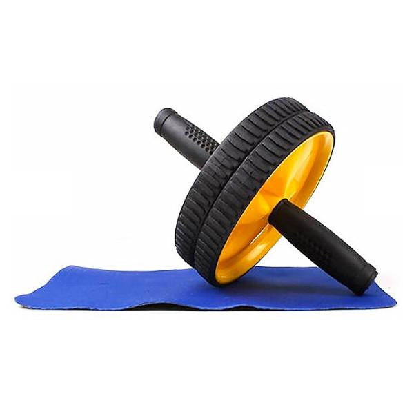 Abdominal Exercise Roller with Mat