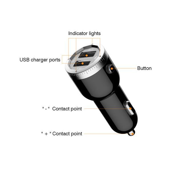 Car Bluetooth FM Radio Transmitter And Charger For Car