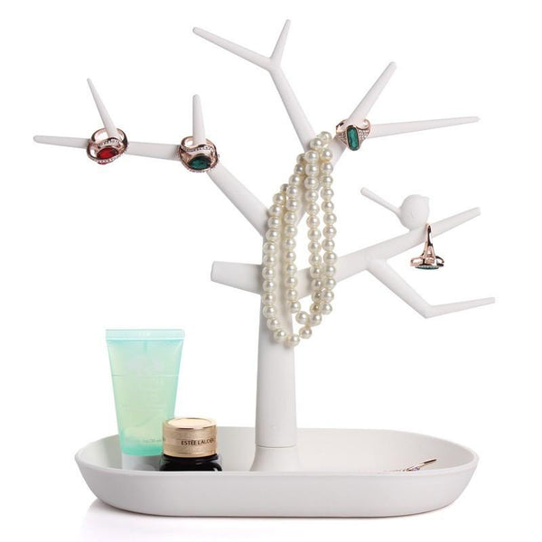 Tree Jewelry And Accessories Stand Organizer